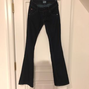 Hudson Dark Denim Flares